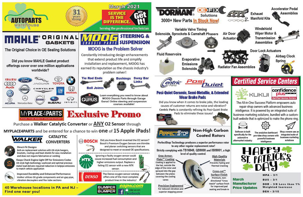 March Monthly Flyer